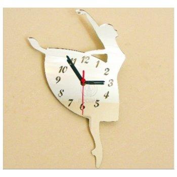 Белые настенные часы БЧ-000004