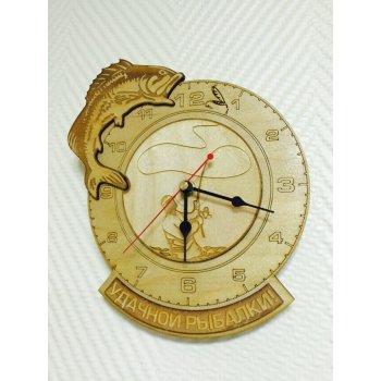 Деревянные настенные часы ДЧ-000010
