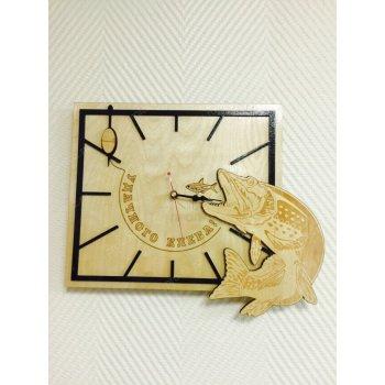 Деревянные настенные часы ДЧ-000013