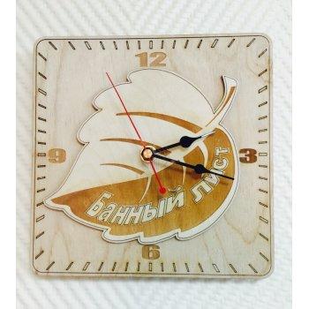 Деревянные настенные часы ДЧ-000014