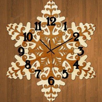 Деревянные настенные часы ДЧ-000020
