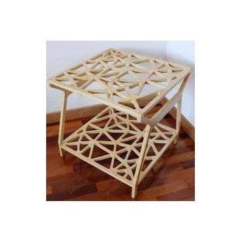 Деревянный журнальный столик ДИ-00072