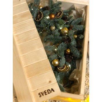 Деревянный ящик для хранения ЯЩ-000040